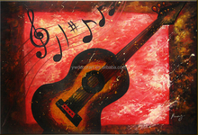 Cheap Price Violin musical instrument Oil Painting