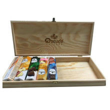 The new oversized wooden gift box chocolate packaging food boxes