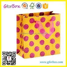 Full Printed Luxury Paper Bag Shopping Gift Paper Bag