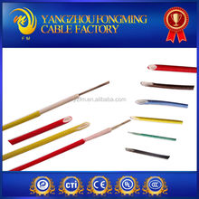 Silicone Insulated high temperature electric cable and wire with UL 3122