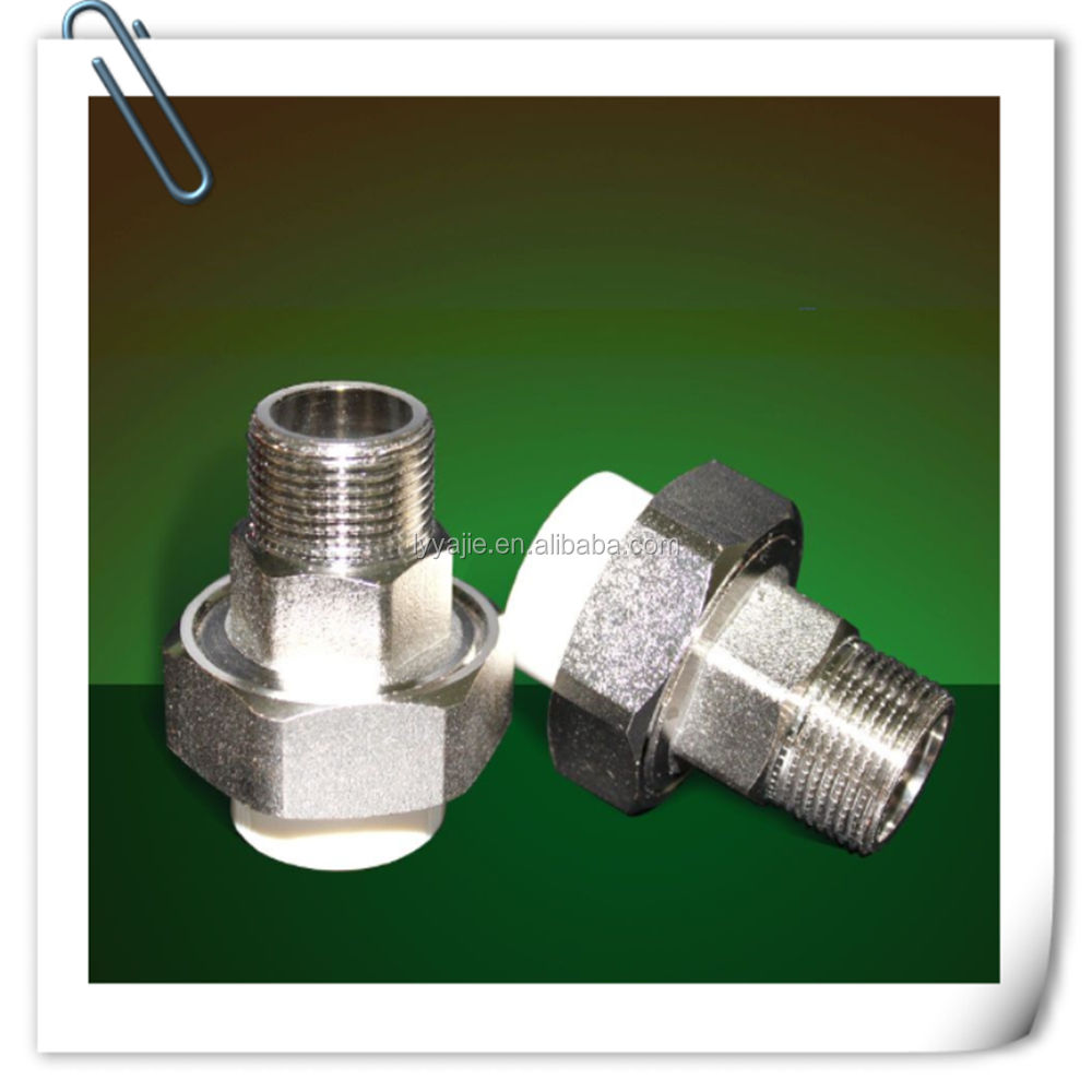 High quality factory direct ppr fitting male copper adapter