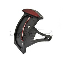 """BJ-LPL-301A Manufacture custom bending of aluminum bracket motorcycle led tail light for choppers with 1"""" or 3/4"""" back axle"""