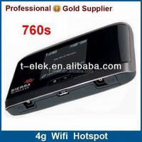 Sierra wireless 760s 1800/2100/2600Mhz wireless 4G mobile LTE hotspot