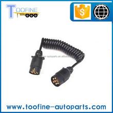 7-pin Trailer Plug and Socket