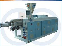 pvc/pe plastic pipe machine with price