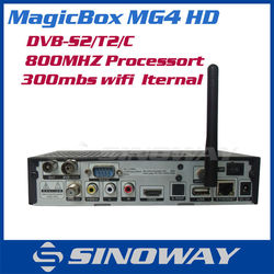 NEW digital Satellite receiver MAGICBOX MG4 Replace Cloud ibox 3 tv box Linux OS magicbox mg4hd Satellite TV Receiver in stock