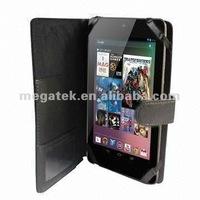 Folio leather case cover for google nexus 7