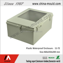11-72 IP65 ABS plastic waterproof enclosures with transparent lid