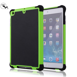 Colorful Football Armor defender case For iPad mini 2 Tablet Case Cover