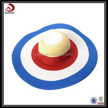 high quality colorful hat women wide brim sun visor hat