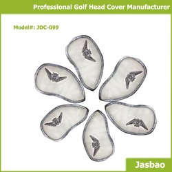 Wholesale Custom Made Neoprene Iron Golf Club Head Covers