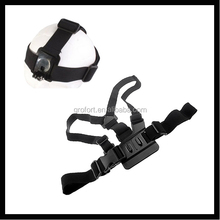 2015 for Gopro Chest Belt with Head Belt for Gopro Hero 4 3+ 3 2 1 Action Camera Accessory