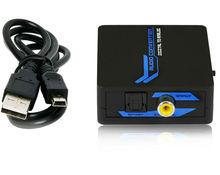 3.5mm Jack Digital audio to Analog audio Audio Converter box