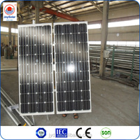 Best price high efficiency mono or poly solar panels 200 watt