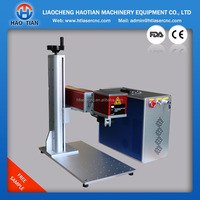 Easy carry and Portable Fiber Laser Marking Machine Price