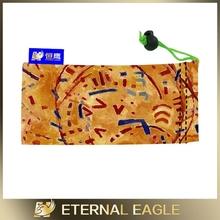 Wholesale custom logo silk pouch /popular microfiber glasses bags