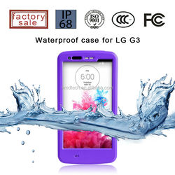 Heavy Duty Shockproof Phone Case for LG G3, Waterproof Phone Cases for LG