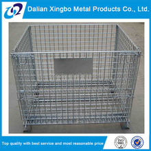 heavy duty new collapsible industrial metal storage bins