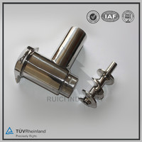 Dalian custom stainless steel SS304 meat grinder spare parts