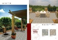 300x300mm inkjet non-slip exterior floor tile,garden tile