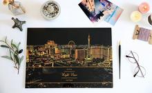 Newest Scratch Night View,Lago Design Scratch Art Paper,Wholesales Scratch Art 3D Postcard With Pen Funnest Than Coloring Books