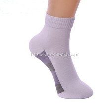 custom made plain cotton ankle men socks