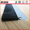 Aluminium holder rubber seal strip weather stripping sliding door