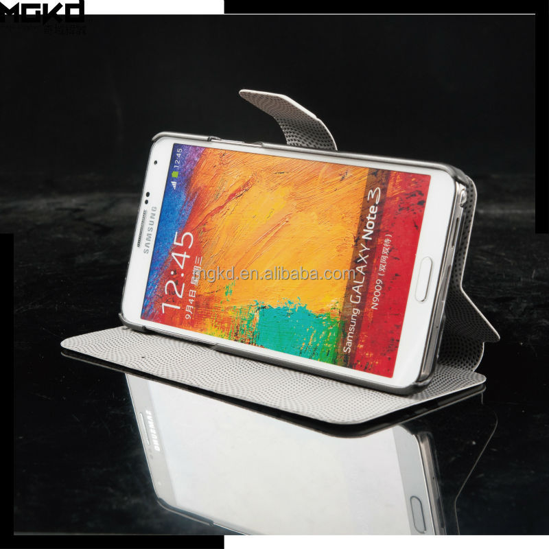 PU retro book leather case for samsung galaxy note 3 mobile phone accessories manufacturer
