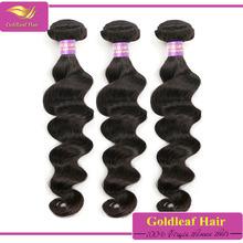qingdao golldeaf hair hot selling 100 pure virgin filipino wavy hair extensions