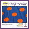 80 cotton 20 polyester dot printing velour