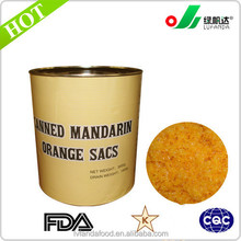wholesale canned orange sacs/pulp/cells