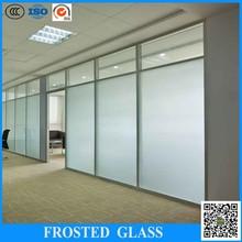 Fornitore porcellana offrire sabbiatura porta in vetro temperato di vetro sabbiatura& macchina per incisione