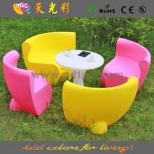 Latest design PE material outdoor furniture color lacquer paint for furniture