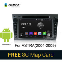 iokone Android 4.4 3g wifi car dvd radio player with gps navigation for Opel Astra/ANTARA/ZAFIRA/CORSA/MERIVA
