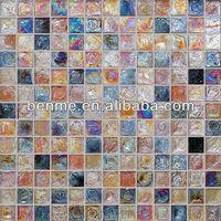 China foshan mosaic interior wall mosaic of colored sand
