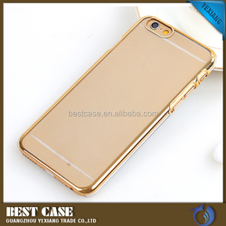 Manufacture PC Hard Case for iPhone 6 Electroplating Back Cover