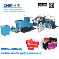 ZD-F450Q alibaba china shopping paper bag making machine with handles