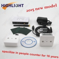 Highlight infrared people counter / wireless people counter / Digital Industrial Automatic Counter