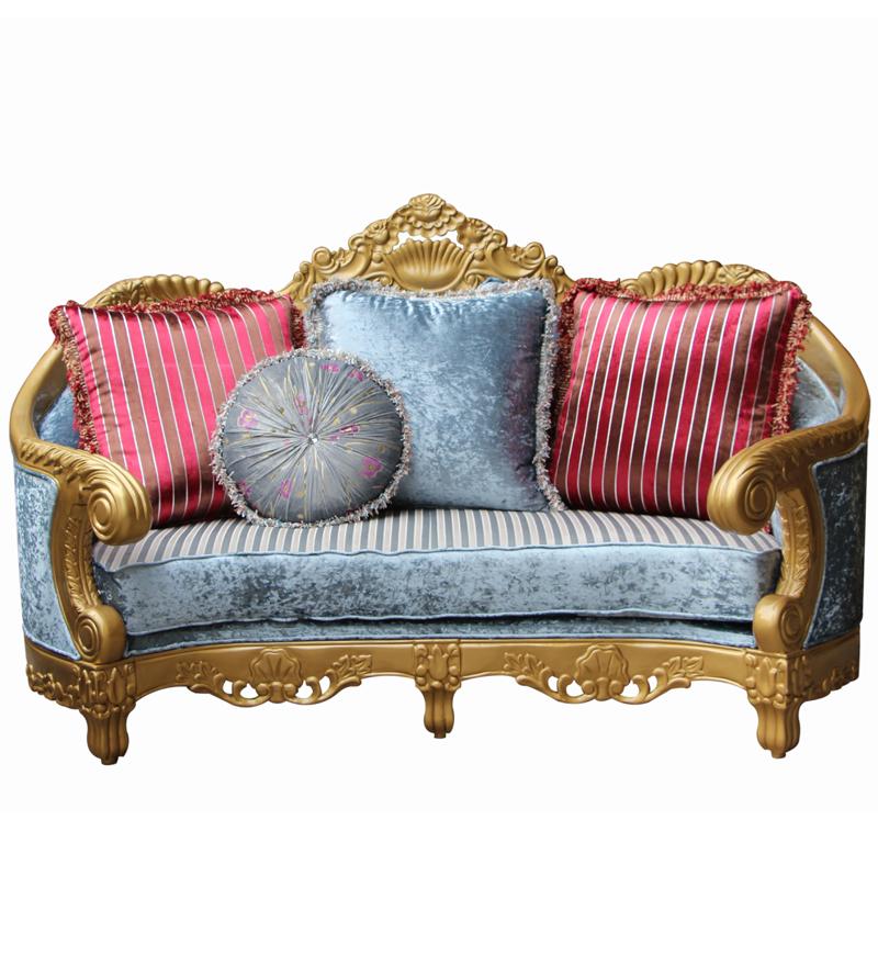 Elegant Living Room Home Designer Furniture Fabric Sofa