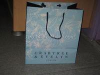 2015 fashion brown kraft paper bag for food/ promotional unique shopping paper bag/ eco bag
