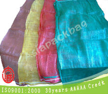 virgin pp circular mesh sacks for fruits and vegetables