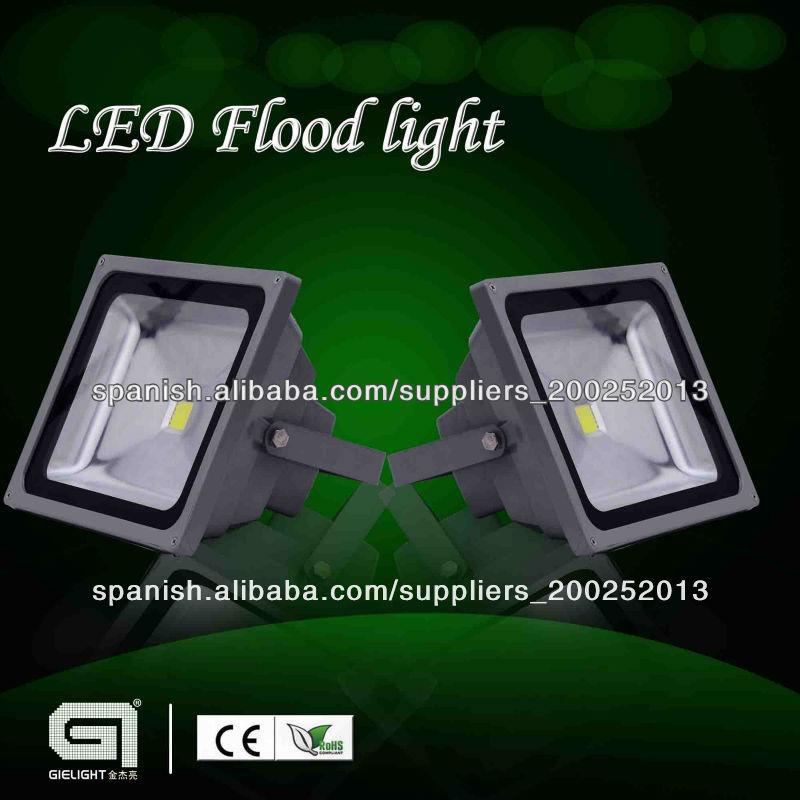 Alto lumen 150w 100 240vac bridgelux cob leds focos led for Focos led exterior 150w