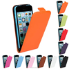 2015 colorful new Factory price flip leather case for iphone5 5s 5c, Genuine leather cover for iphone5 5s 5c