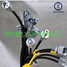 UNF threaded mini test hose fittings