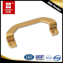China low price black powder coated door handle