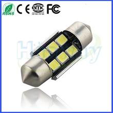 Car Festoon led Light 3528/ 2835 6 SMD AUTO LED Festoon LIGHT