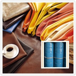 Dry process polyurethane resin /PU Resin TWO COMPONENT ADHESIVE FOR PVC LEATHER/CONPONENT