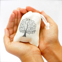 wholesale china factory supplier cotton muslin seed bag