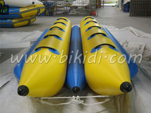 New inflatable banana boat,inflatable water sport game ,inflatable flying fish towable banana boat D3013