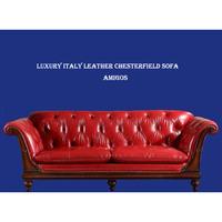 modern wooden Leather sofa furniture design
